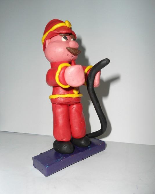 Пожарник из пластилина своими руками поэтапно фото 28