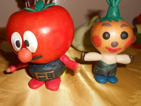 Поделки своими руками помидор 15