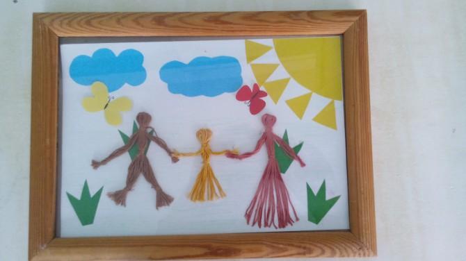 Открытка ко дню семьи 15 мая своими руками