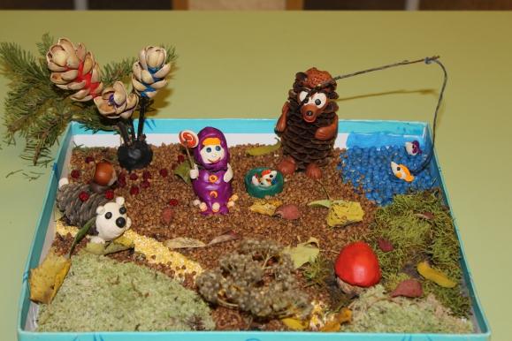 Поделка экология для детского сада осень