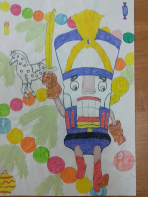 картинки рисунки щелкунчик