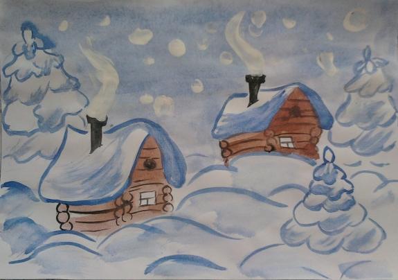том, рисунки на тему зимушка зима фото результате тектонических