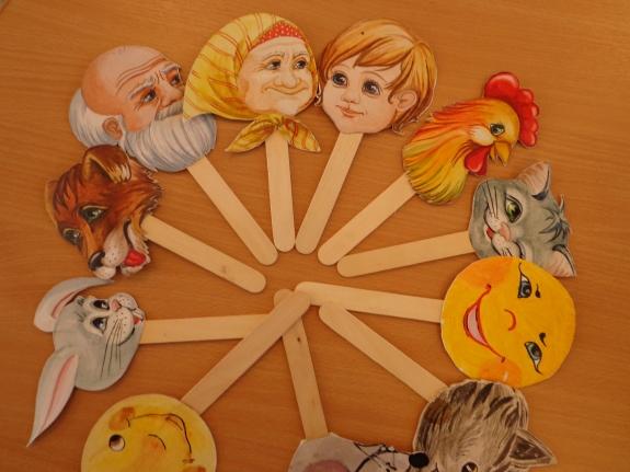 Настольный театр своими руками в детском саду шаблоны