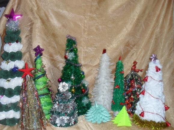 Как сделать новогоднюю елку на конкурс