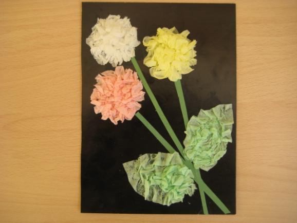 Открытки днем, цветы для папы открытка
