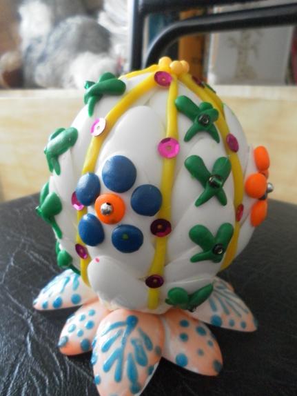 Яйцо из ложки своими руками 315