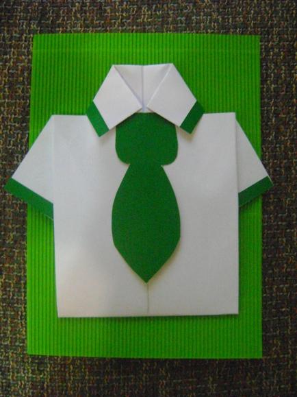 Открытка Для Папы Рубашка