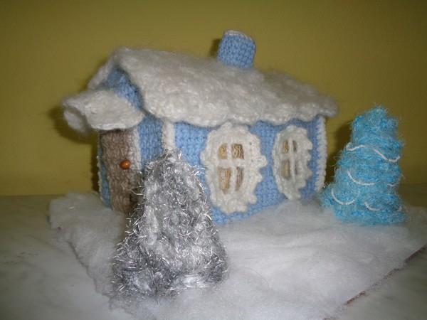 Детское творчество поделки дом для дедушки мороза