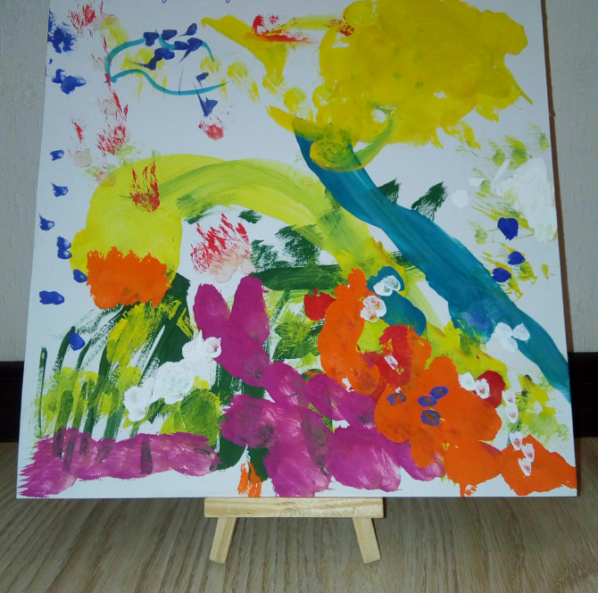 Конкурсы с бумагой и красками