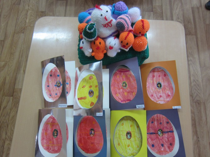Поделка на конкурс детского творчества