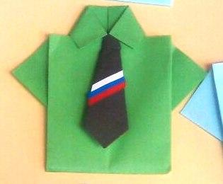 Открытка для папы рубашка с галстуком конспект в ср.гр, картинки