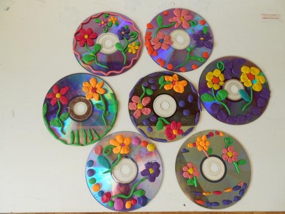 Конспект занятия поделки из дисков 311