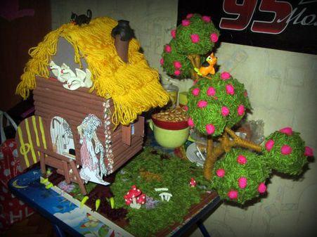 В гостях у сказки поделка в сад 53