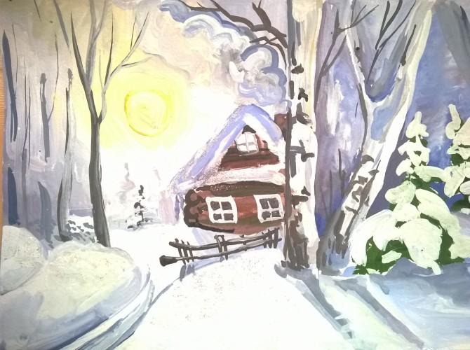 зимнее утро пушкин картинки и иллюстрации рисовать насладиться красотой, нужно