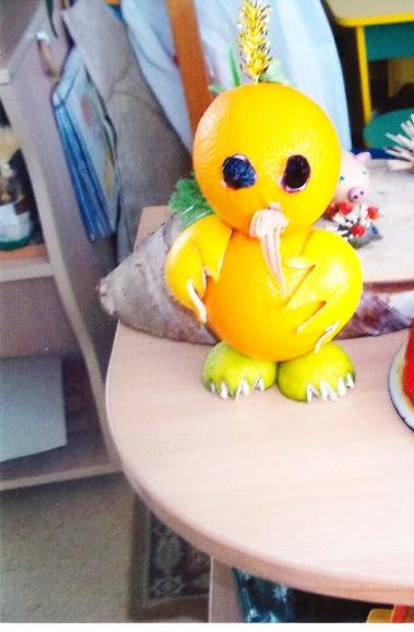 Поделка из апельсина в детский сад 13