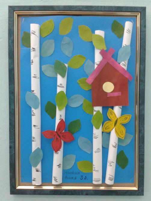 Весенние поделки для детей 4 класс 42
