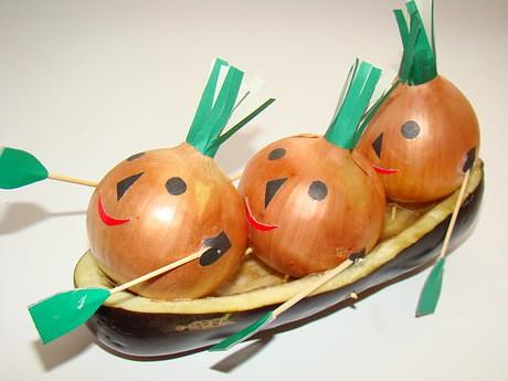 Поделка из овощей своими руками для школы