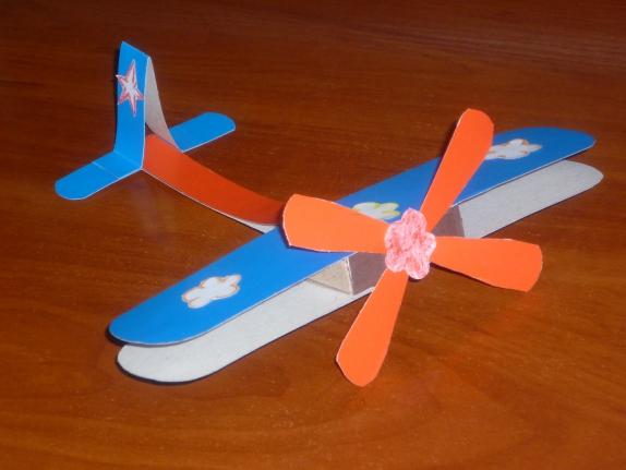 Самолет своими руками из спичечных коробков