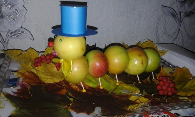 Поделки из винограда для детского сада фото 27