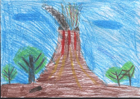 Вулкан конкурс рисунков