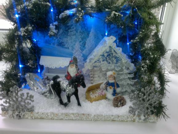 Зимняя сказка фото поделки 95