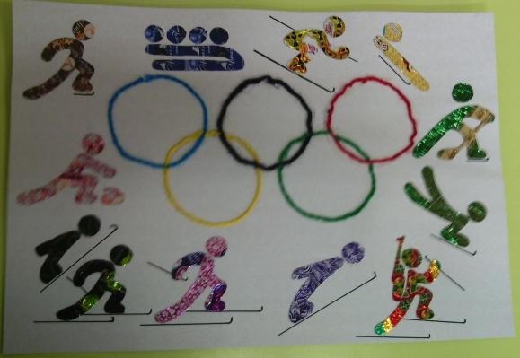 открытки для олимпиады работа с детьми фото