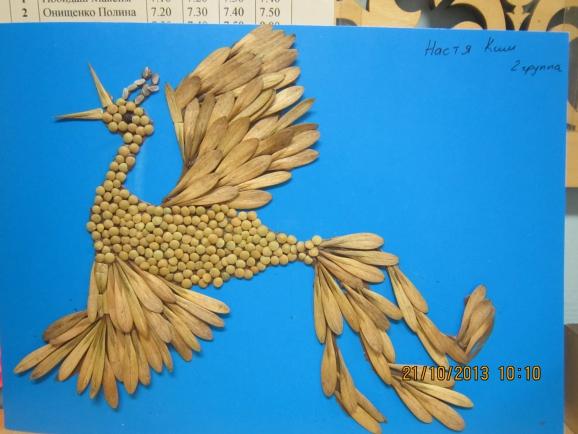 Осенние поделка жар-птица