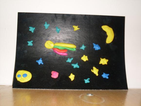 фото лепки звезды и кометы задача, которую должны