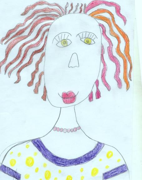 Рисунок для мамы для детей 6 лет, аниме картинки