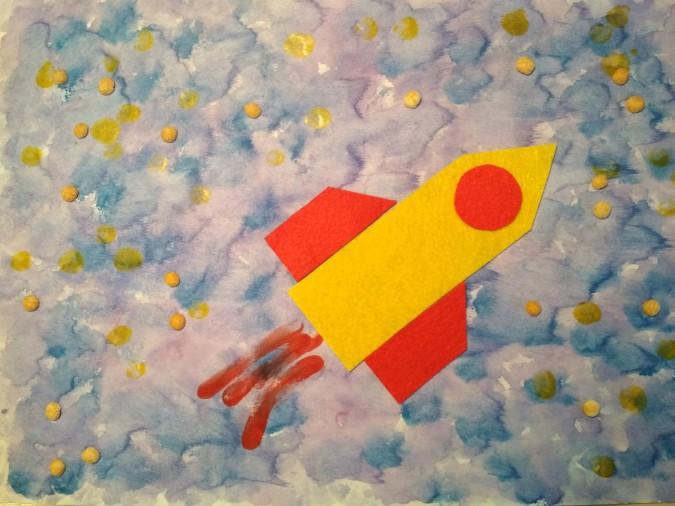 Конкурс детского творчества «Вперёд, к звездам!»