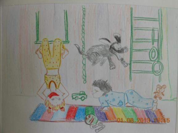 """Название:  """"Дети Сургута за здоровый образ жизни """" Куратор.  Конкурс детского рисунка. .  Август 2013."""
