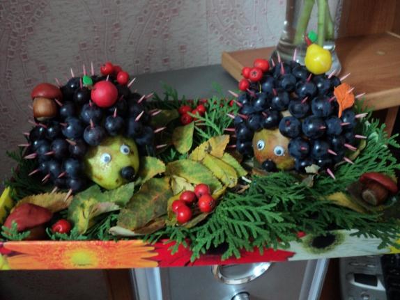 Поделки из винограда для детского сада фото 17