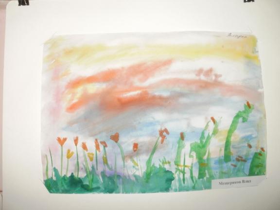 Вечер конкурс детского рисунка