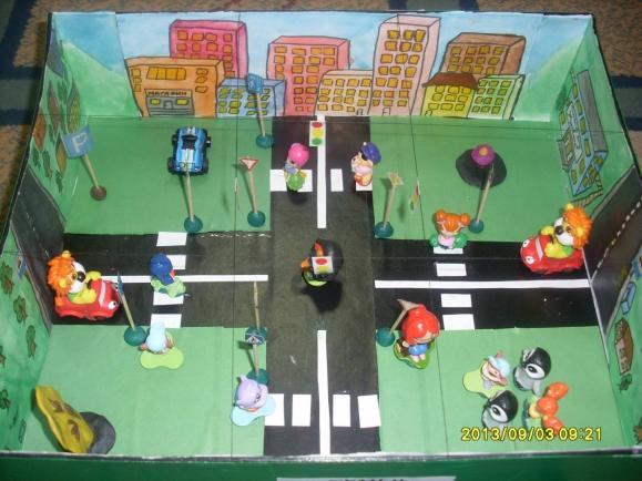 Макет по пдд для детского сада своими руками фото