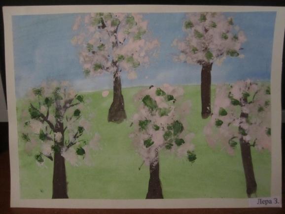 цветут сады рисование в старшей группе картинки объяснить, что значат