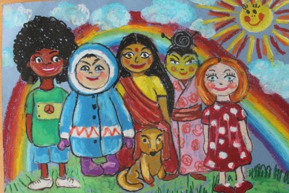 самом рисунок мы разные мы вместе иркутянин