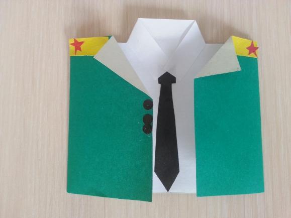 Год, открытки с 23 февраля своими руками мундир
