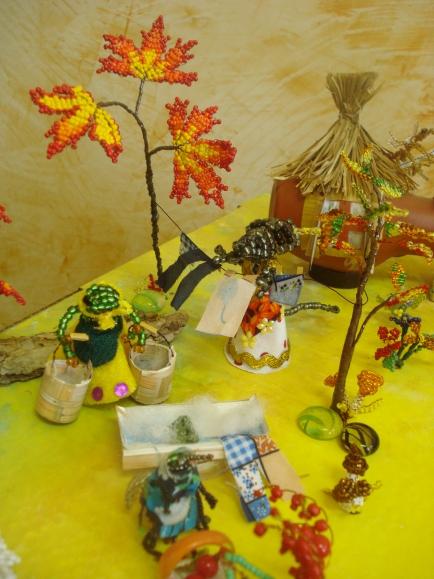 поделки виде сказок на выставку. поделки детского творчества оригами.