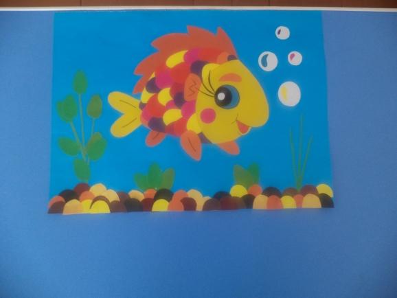 Рыба из цветной бумаги своими руками 15