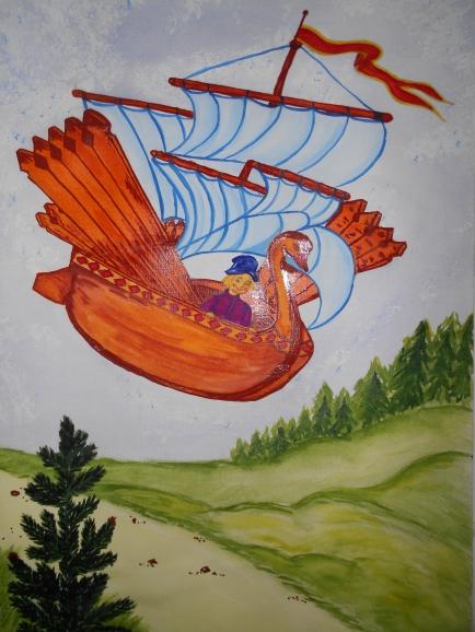сказка летучий корабль в картинках чтобы следует делать использованием