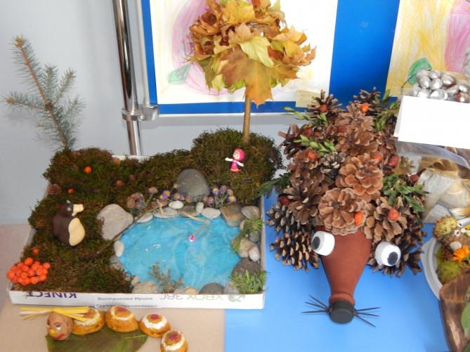 Лес поделка в детский сад 52