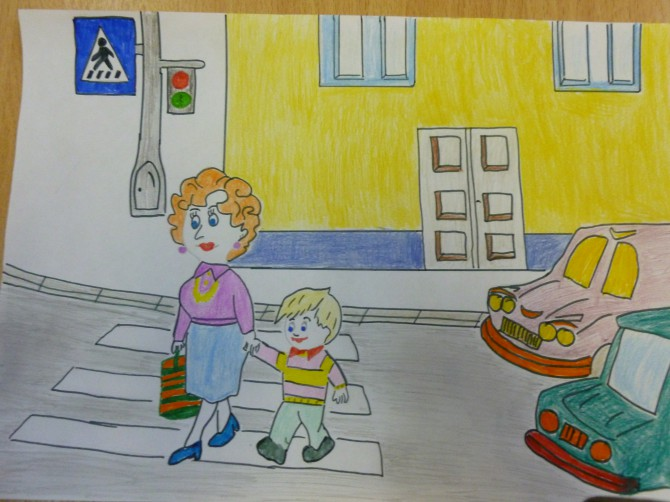 Картинки на тему дорожное движение для детей 7 лет