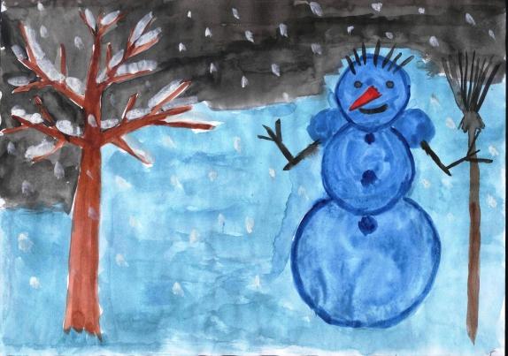 Снеговик для 6 классов конкурс