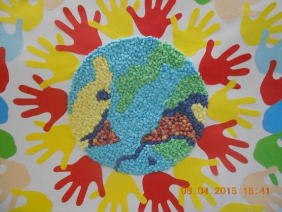 Мир глазами детьми поделки 216