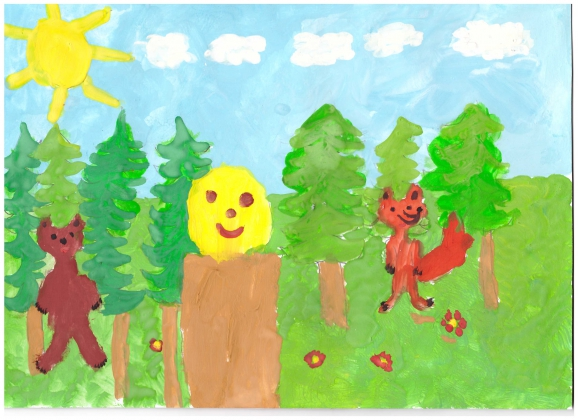 Рисунки и поделки наших детей