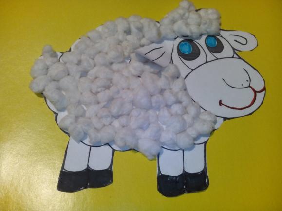 Открытки овечки из ваты, энергетиков открытка