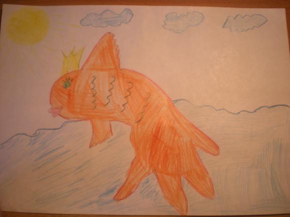 Конкурс рисунков золотая рыбка