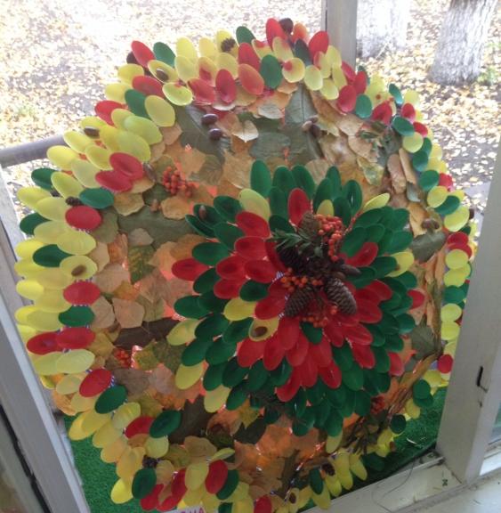 Осенний зонтик поделки