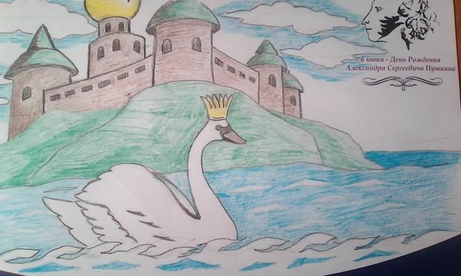 Иллюстрации к сказке о царе салтане срисовать