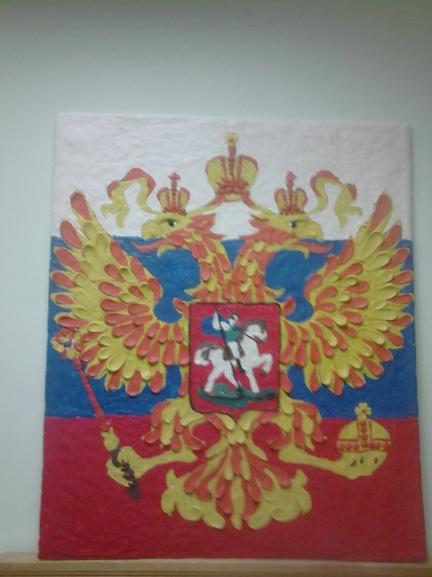 Поделка на символ россии 801
